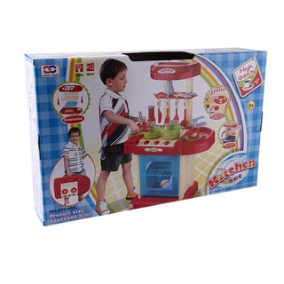 Kids Play Toy Girl Baby Toy Kitchen Cooking Simulation Table Utensils Toys
