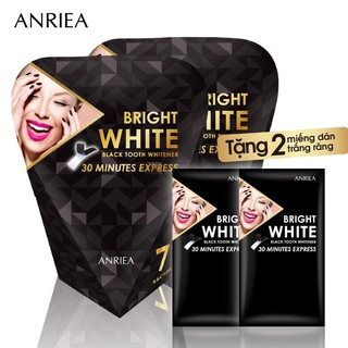 Combo 2 Hộp 7miếng dán trắng răng Anriea Tặng 2 miếng dán trắng răng Anriea