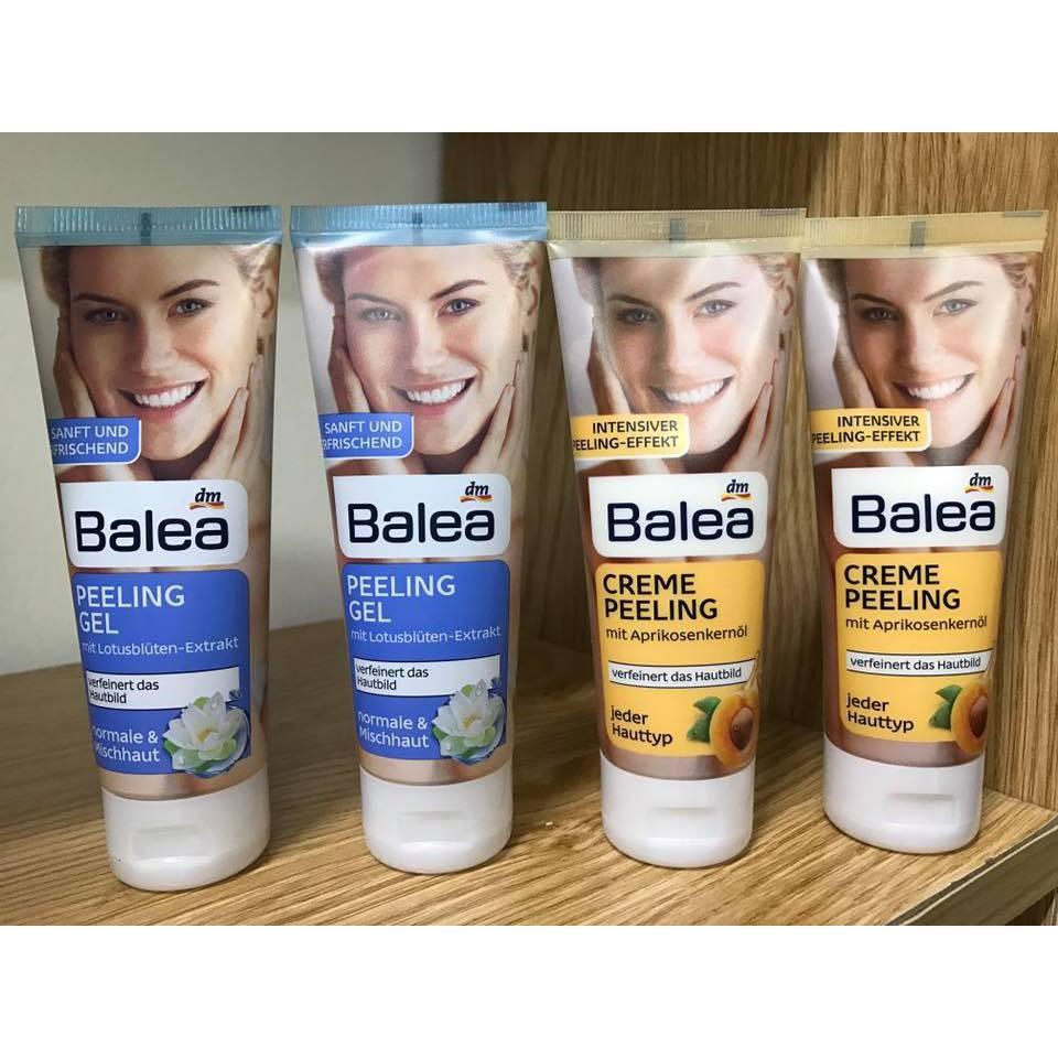 Tẩy da chết mặt Balea