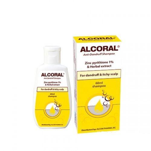 Dầu gội trị gàu ALCORAL - 60ML