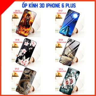 Ốp lưng kính 3D IPHONE 6S PLUS mặt kính 3d sang trọng, ảnh thực quý khách vui lòng xem video shop cung cấp ạ TAIYOSHOP4 thumbnail