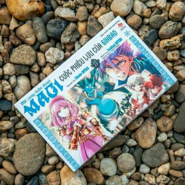 Sách - Magi - Cuộc phiêu lưu của Sinbad