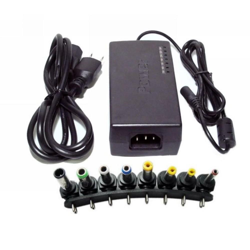 Adapter đa năng 8 đầu sạc cho laptop và các thiết bị khác (Đen)