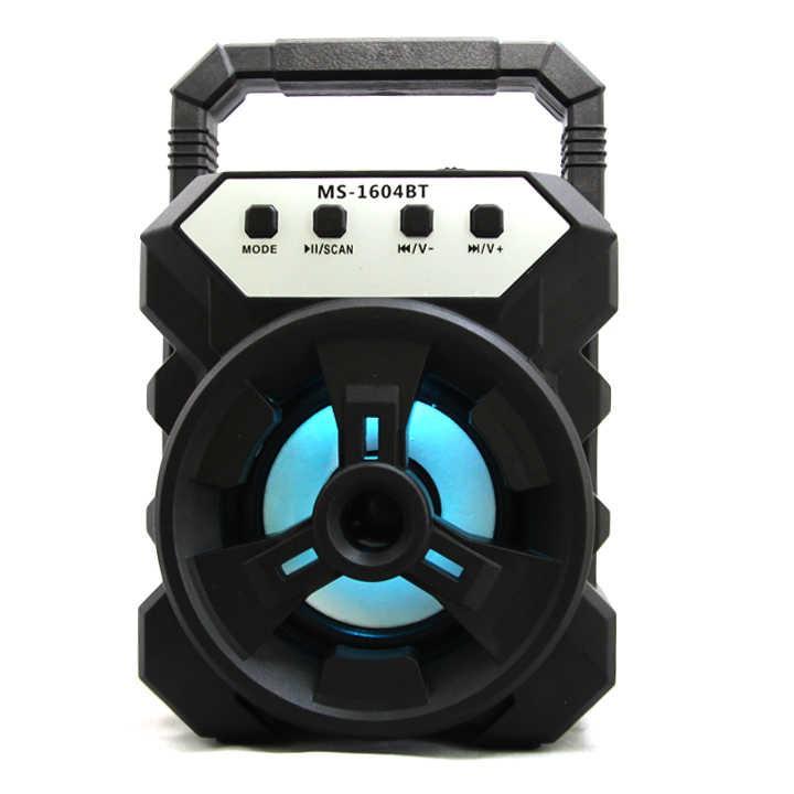 [Mã ELAPR20K giảm 20K đơn 20K] Loa Bluetooth Xách Tay MS-1604BT Âm Thanh Cực Đỉnh Nhỏ Gọn Trong Tầm Tay