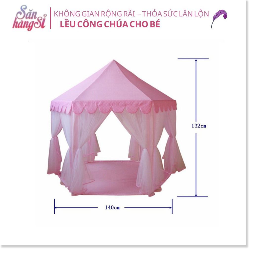 Lều hoàng tử công chúa Hồng (thùng 35 cái)