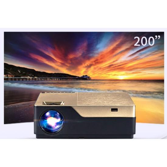 Máy chiếu LED full hd M18 phân giải 1080p 150w Giá chỉ 4.600.000₫