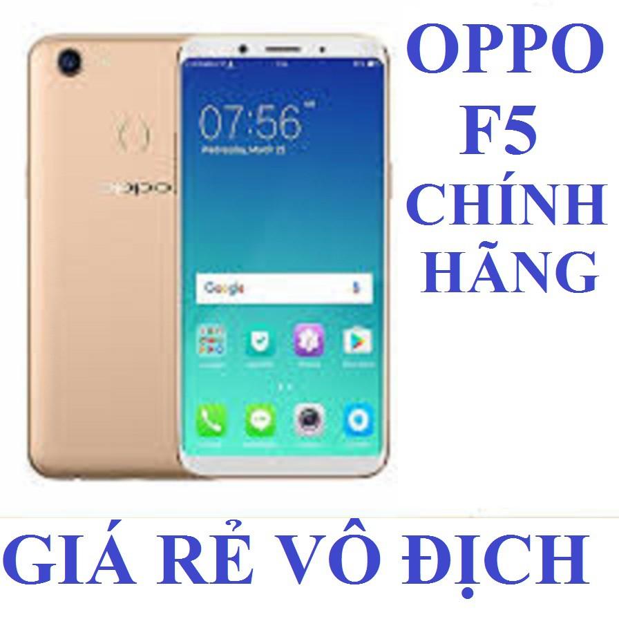 điện thoại OPPO F5 CHÍNH HÃNG 2sim Ram 4G bộ nhớ 32G mới