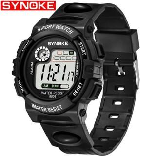 Đồng hồ thể thao dây cao su trẻ em Synoke 9001