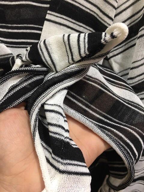 Áo kẻ tay rộng hot hit ( ảnh thật )