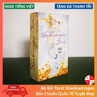 [Mã TOYFSS9 hoàn 20K xu đơn 50K] Bộ Bài Bói Tarot ShadowScapes Bản Chuẩn Tặng Hướng Dẫn Tiếng Việt Và Đá Thanh Tẩy
