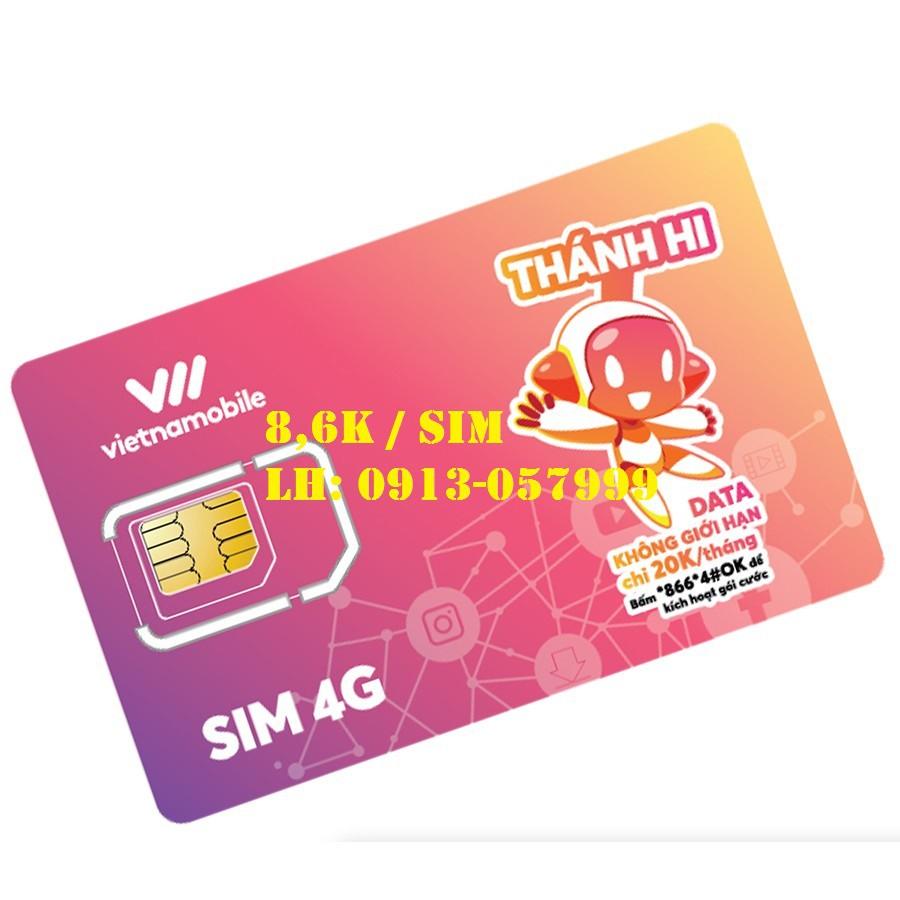 Sim vietnamobile tạo fb, zalo, shope, sen, lad ... Nghe gọi vào mạng.