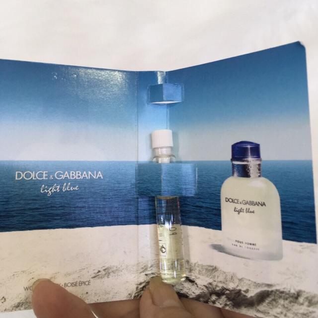 [Vial] Nước hoa Nam Dolce&Gabbana-Light Blue pour homme 1,5ml edt