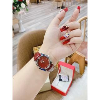 Đồng hồ nữ TISOT dây da bền đẹp su hướng thời trang giới trẻ, phù hợp mọi lứa tuổi, chống nước, bảo hành 12 tháng