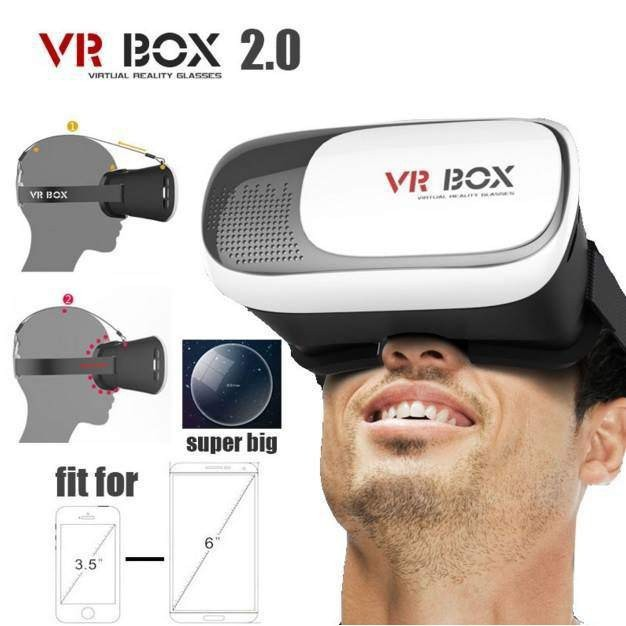 Kính Thực Tế Ảo 3D VR Box Giá Siêu Rẻ Phiên Bản 2 mã BGB21