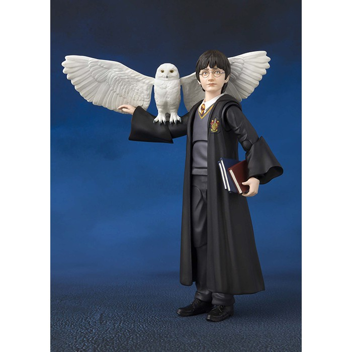 Mô hình chính hãng Bandai S.H.Figuarts SHF Harry Potter (Harry Potter và hòn đá phù thủy). New nguyên seal, hộp đẹp.