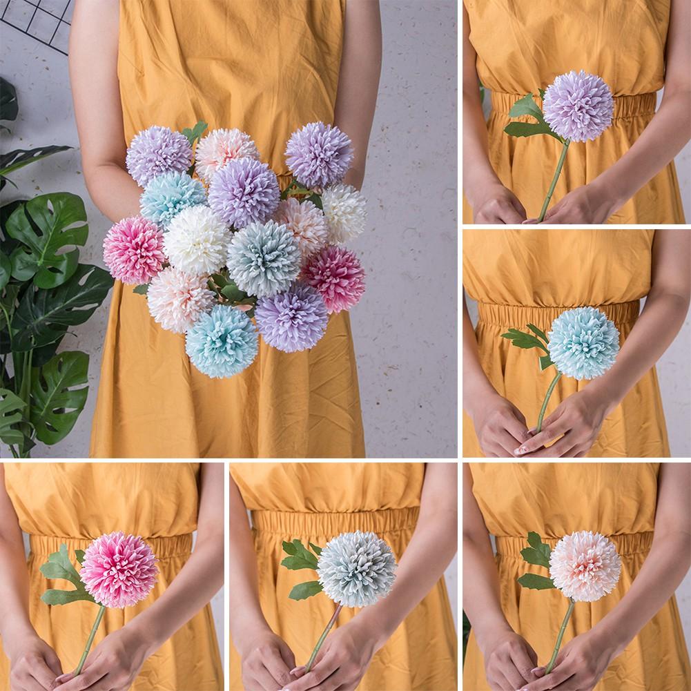 🌿🌿1Pc Artificial Chrysanthemum Cloth Simulation Flower Office Hotel