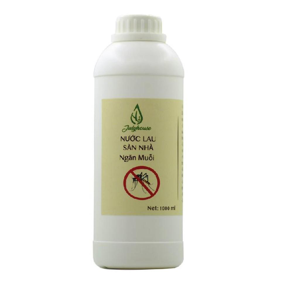Nước lau sàn nhà đuổi muỗi tinh dầu Sả Chanh 1000ml JULYHOUSE