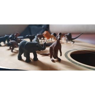 Mô Hình 36 Loài động vật nhựa đặc