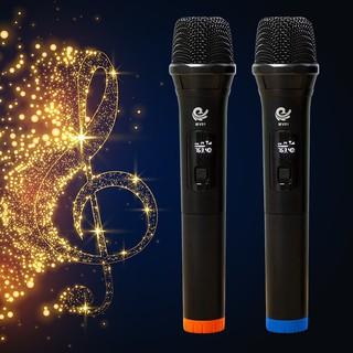 Micro Không Dây, Micro đôi Hát Karaoke MV01, Chuyên Dành Cho Mọi Loa Kéo, Âm Ly - Tần Số 50, Hát Nhẹ Và Êm