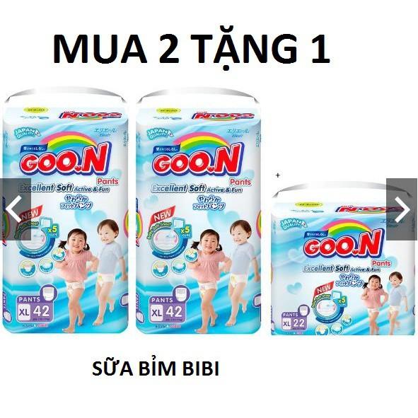 BỈM GOON MUA 2 TẶNG 1 M60/M66/L48/L56/XL42/XL50/XXL34/XXXL26