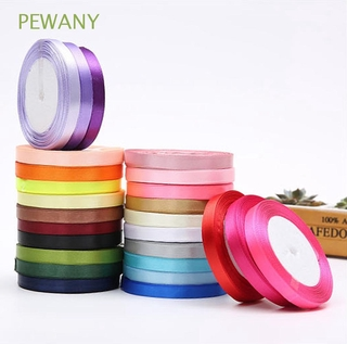 PEWANY 25Yards Satin Ribbons DIY Gifts Wrapping Grosgrain Accessories Apparel Sewing Christmas Polyester Fabric Tape Craft roll Party Decorations
