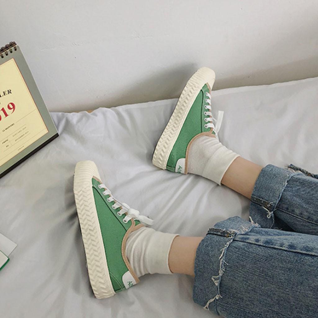 Giày Thể Thao Vintage Đế Sò [Ảnh Thật - FREESHIP 99K]