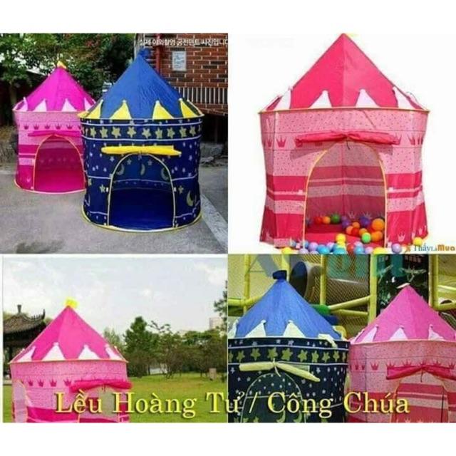 Combo 5 lều công chúa- hoàng tử