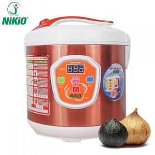 Máy làm tỏi đen tùy chỉnh Nhật Bản Nikio NK-686 - 6L - Màu cafe sữa