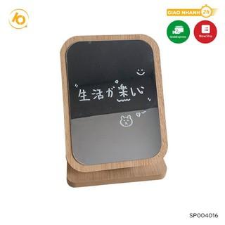 Yêu ThíchGương gỗ để bàn trang điểm SHOP10K,Gương để trang điểm phong cách sang trọng SP004016
