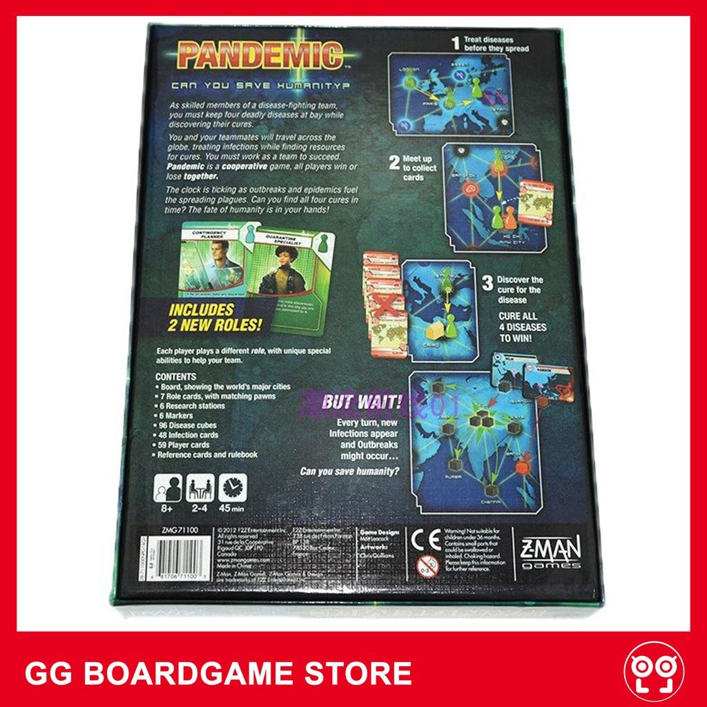 HÀNG CAO CẤP - HỘP GAME PANDEMIC tiếng Anh chất lượng cao