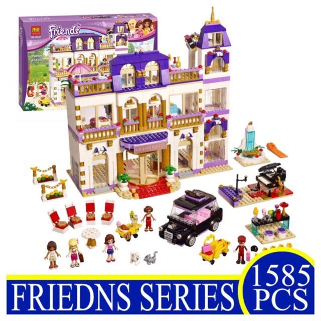 Lego friends 10547 - khách sạn 5 sao heartlake