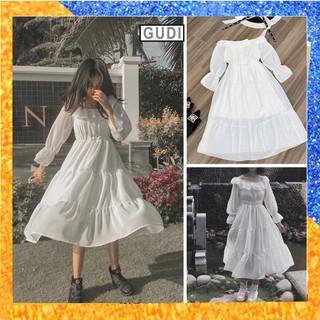 Váy Tiểu Thư Vintage, Đầm Tiểu Thư Sang Chảnh Cao Cấp