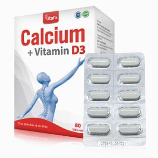 VIÊN UỐNG CALCIUM + VITAMIN D3 - CTCP TITAFA VIỆT NAM thumbnail