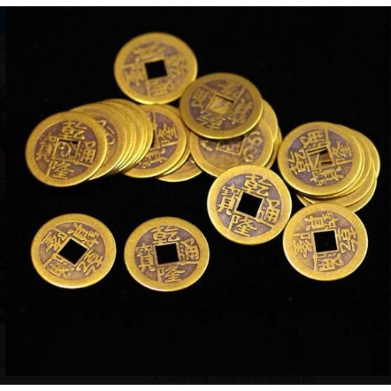 Đồng Tiền Xu Âm Dương Chiêu Tài