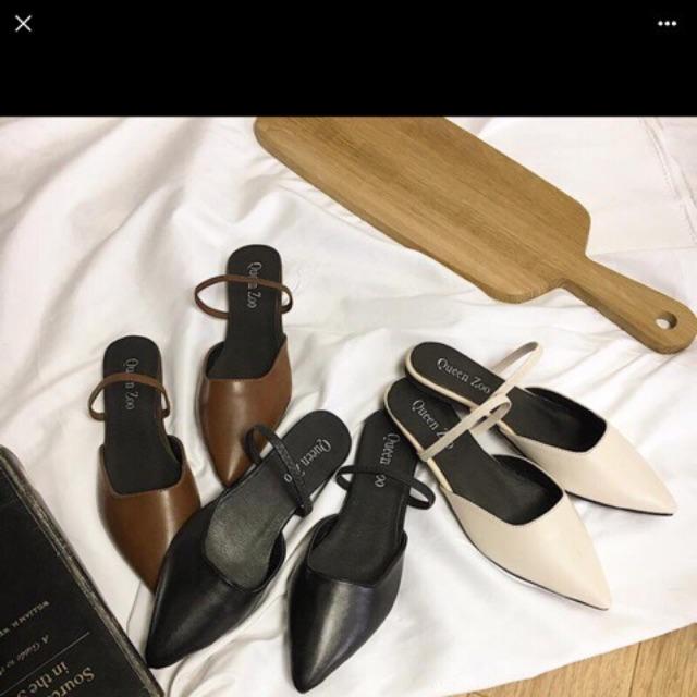 Order giày bệt 3 màu