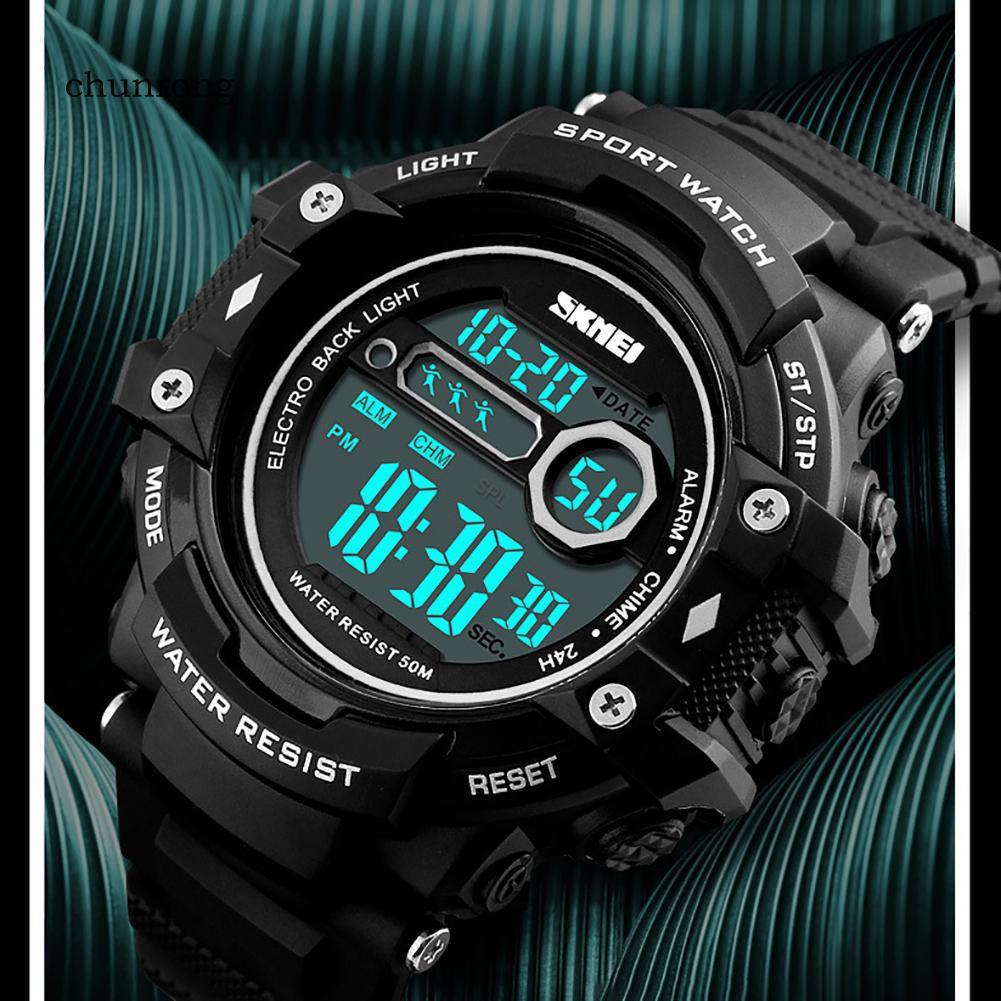 Đồng hồ điện tử chống nước hiển thị ngày