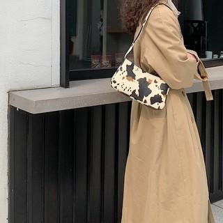 (Hottrend) Túi Kẹp Nách Nữ Túi đeo vai nữ KR 343- Da sần vân loang cao cấp, size 25, phong cách hàn quốc- KARA 343