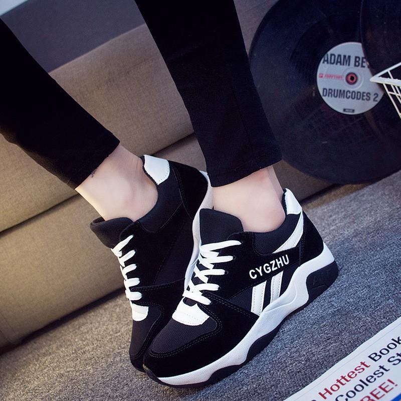 (CỰC HOT) Giày Sneaker Nữ Đẹp D2581Trắng Đen Thời Trang Kèm Ảnh Thật - 3499773 , 973136259 , 322_973136259 , 350000 , CUC-HOT-Giay-Sneaker-Nu-Dep-D2581Trang-Den-Thoi-Trang-Kem-Anh-That-322_973136259 , shopee.vn , (CỰC HOT) Giày Sneaker Nữ Đẹp D2581Trắng Đen Thời Trang Kèm Ảnh Thật