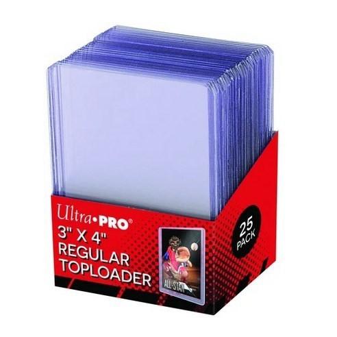 [1 Hộp 25 Cái] Ultra PRO Toploader/Bọc Thẻ Nhựa Cứng 35PT Đựng Photocard, Ảnh