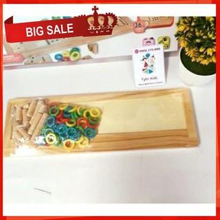 [CỰC ĐẸP] Đồ chơi giáo dục Montessori, đồ chơi thông minh cho trẻ [SỈ – LẺ]