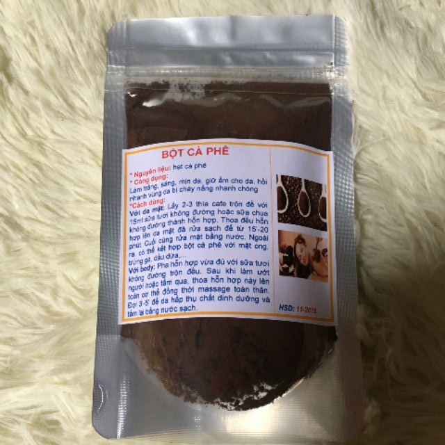 100gr bột cà phê nguyên chất handmade