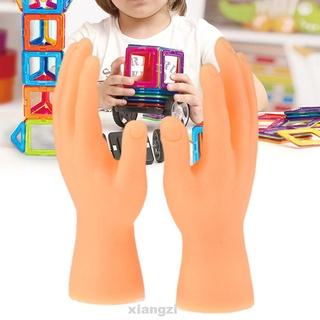 1 Pair Friends Durable Horror Halloween Jokes Gifts Right Left Mini Finger Hands