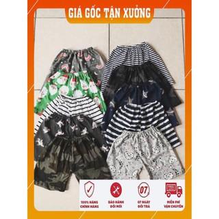 [HÀNG XUẤT KHẨU]- Quần chục – Combo 10 quần cotton đùi cao cấp cho bé trai – gái