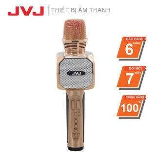 Micro không dây Karaoke JVJ SD-10 Bluetooth ( Hồng, Đen )