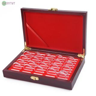 Coin Holder Super thick Gifts Award Commemorative With Cushion Ceremony Penny Storage Reusable Protect Display