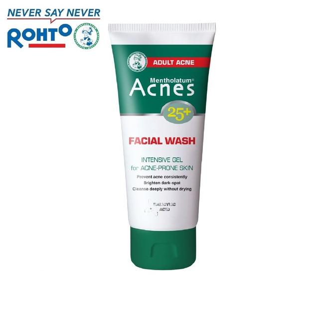 Gel rửa mặt ngăn ngừa mụn tuổi trưởng thành Acnes 25+ Facial Wash 100g