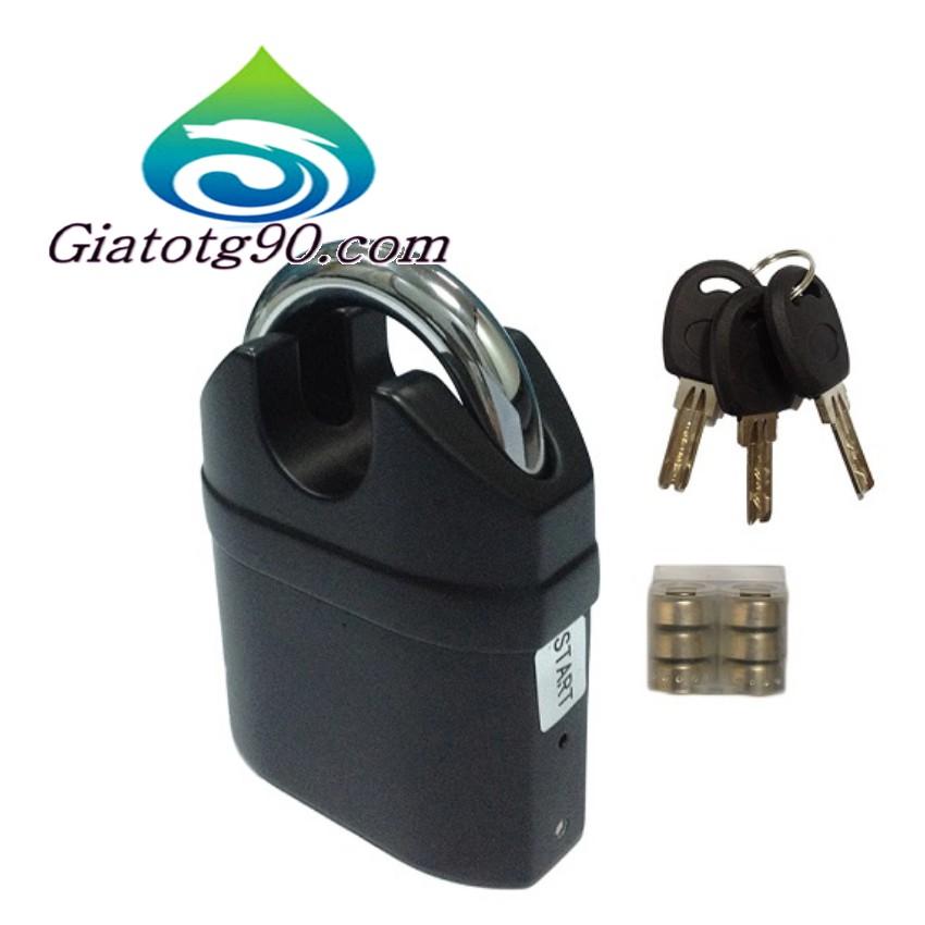 Ổ khóa báo động - chống cắt Kinbar K106a 206504 2 (Đen)