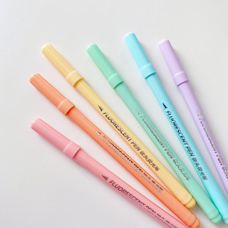 Hình ảnh Set 6 bút đánh dấu Winzige màu sắc ngọt ngào-7