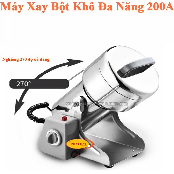[ELTET100K giảm tối đa 100K] Máy Xay Tinh Bột Khô Đa Năng 200A Vỏ INOX-Bảo Hành 6 Tháng - 22106539 , 2654589360 , 322_2654589360 , 1000000 , ELTET100K-giam-toi-da-100K-May-Xay-Tinh-Bot-Kho-Da-Nang-200A-Vo-INOX-Bao-Hanh-6-Thang-322_2654589360 , shopee.vn , [ELTET100K giảm tối đa 100K] Máy Xay Tinh Bột Khô Đa Năng 200A Vỏ INOX-Bảo Hành 6 Th