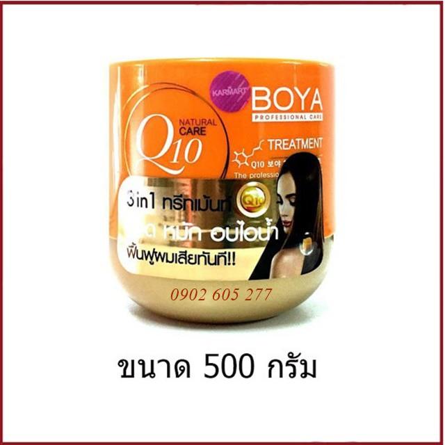 [hàng chính hãng]Kem ủ tóc BOYA Q10 Thái lan 500ml